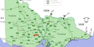 Melbourne Kartta Kartat Melbourne Australia